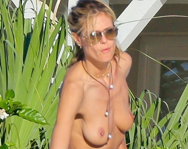 Heidi klum blowjob