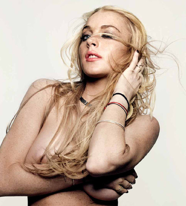 Lindsay lohan showing her pussy and tits and fucking hard