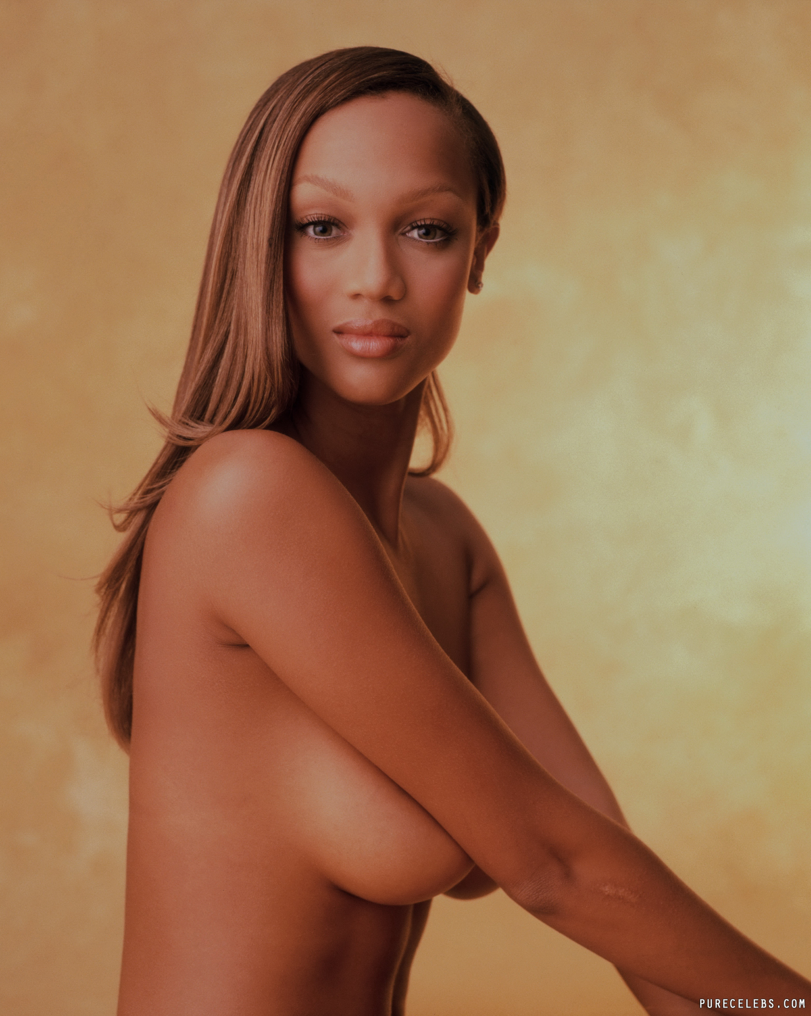 Naked picture of tyra banks