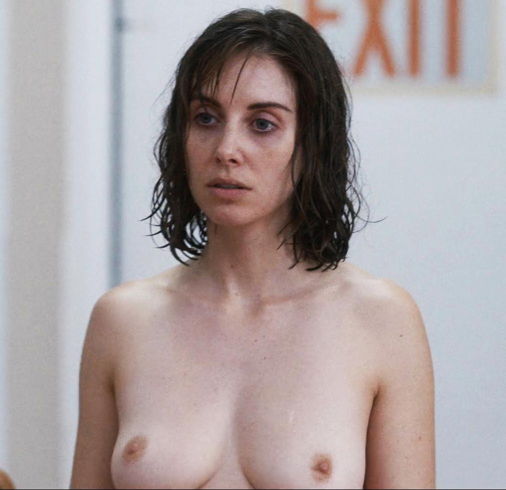 Alison Brie New Topless Nude Scene